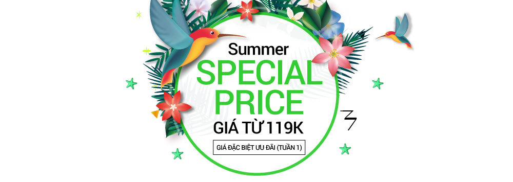 ENJOY YOUR SUMMER - SPECIAL PRICE
