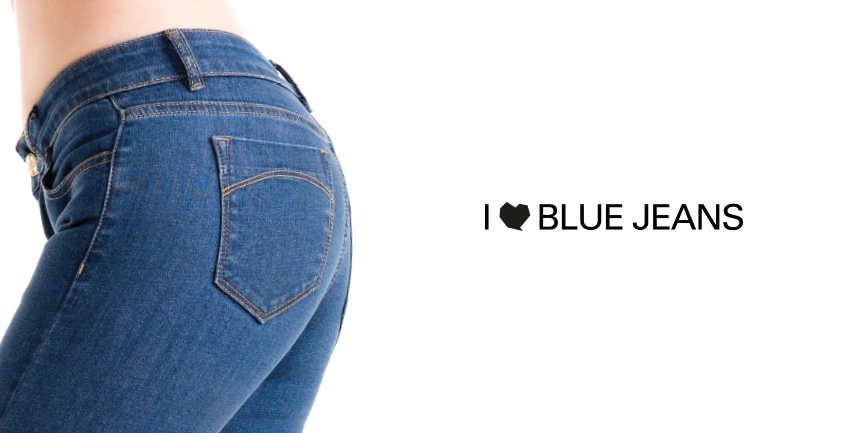 I Love Blue Jeans